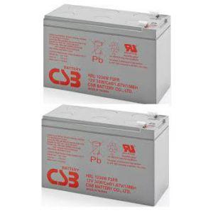 RBC113 2szt akumulatorów HRL 102WHr  10lat do pakietu #113 204Whr
