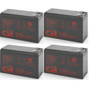 4-pak RBC24 Pakiet 4szt akumulatorów 432Whr  3-5lat