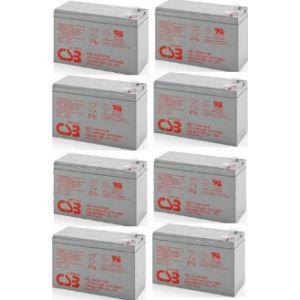 8-pak RBC26 Pakiet 2x4szt akumulatorów 816WHr 10lat