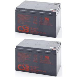 RBC52-GP244Whr pakiet 2szt akumulatorów 5lat