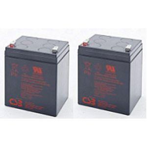 Eco CDS 1200 2szt akumulatorów 5lat zamienniki  122,4Whr
