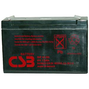 Akumulator  12Ah 6V GP 6120 CSB